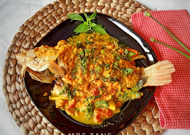 Resep Ikan Nila Bumbu Kuning Kemangi - No Santan oleh Mrs ...