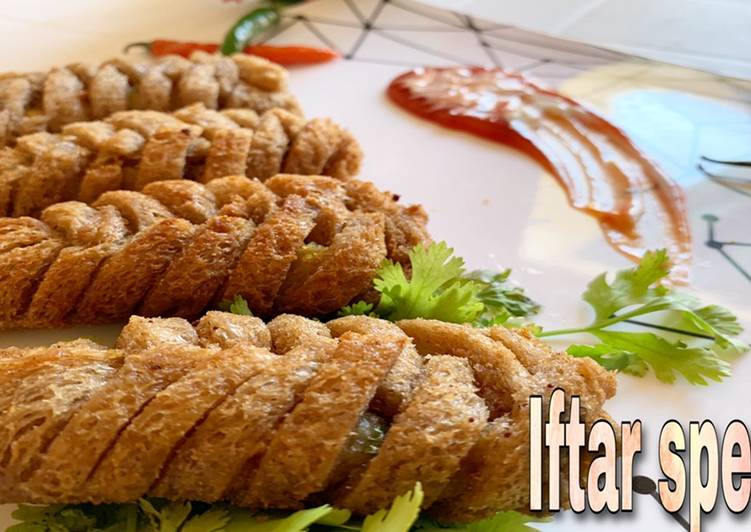 Simple Way to Make Favorite Bread roll with potato stuffing