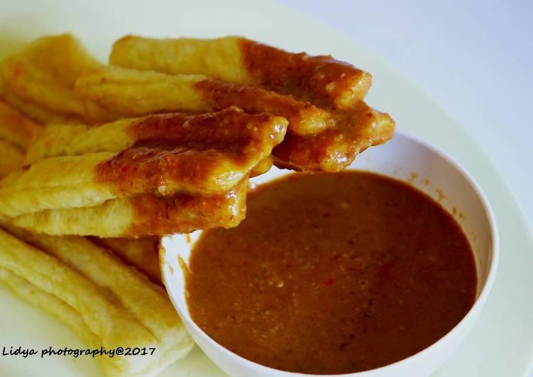 Resep Cakwe Bumbu Kacang Ala Chef Lidya Oleh Lidya Isma Cookpad