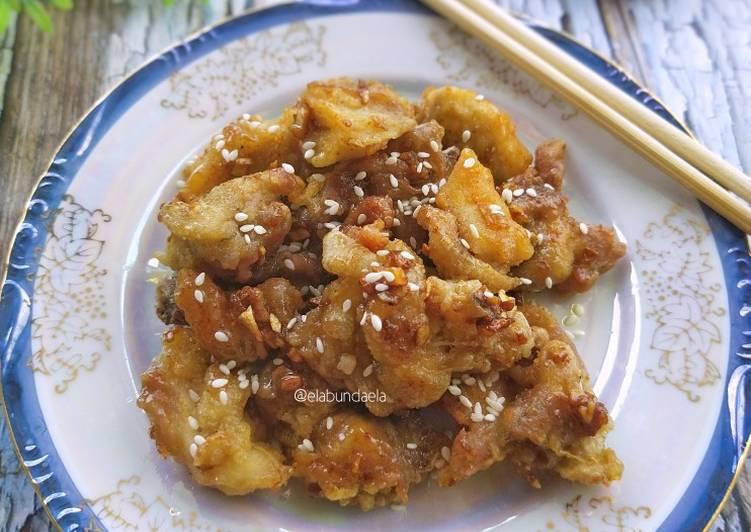 Ayam Goreng Mentega Madu khas Korea