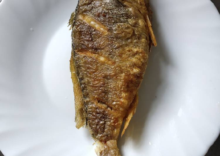 15 Minute Step-by-Step Guide to Make Blends Fried Yellow Croaker