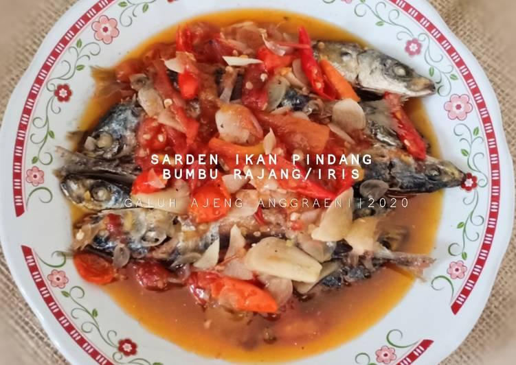 Sarden Ikan Pindang Bumbu Rajang/ iris