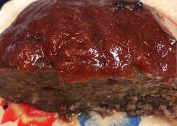 Easiest Way to Make Appetizing Old fashioned meatloaf
