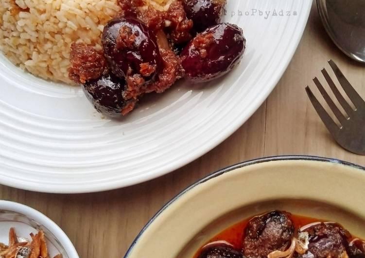 Sambal Dabei (menu Sarawak)
