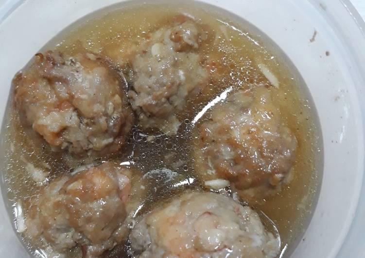 Resep Bakso Kuah Babi Udang