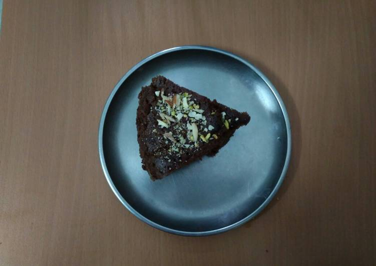 Brownie from bourbon biscuits