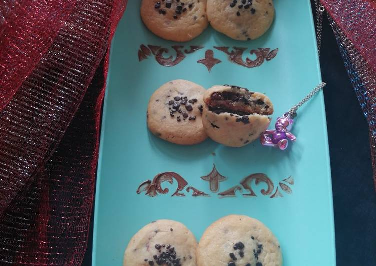 How to Prepare Delicious Nutella Chocolate cookie