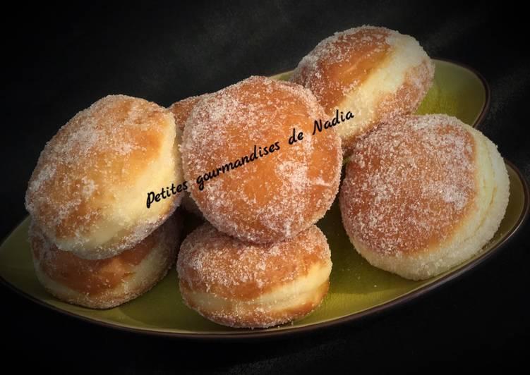 La Recette Pas à Pas Beignets comme à la boulangerie fourrés à la pâte à tartiner 😋😋😋