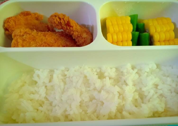 Bekal Anak TK-A Pasti Habis - Dori Filet Goreng Tepung & sayuran