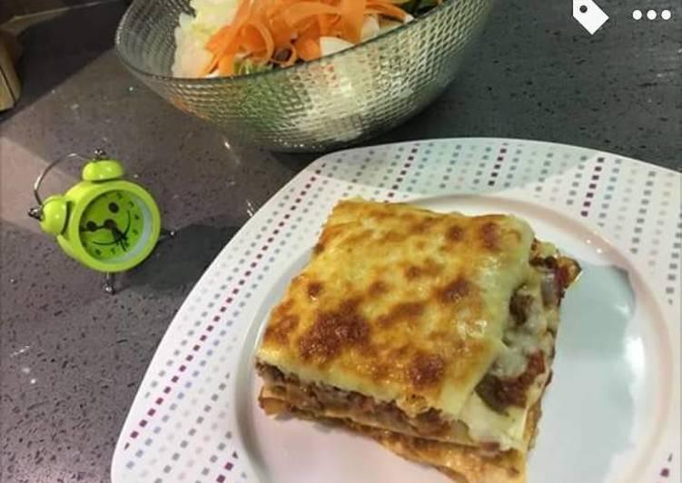 Easiest Way to Cook Delicious Vegetarian Lasagne