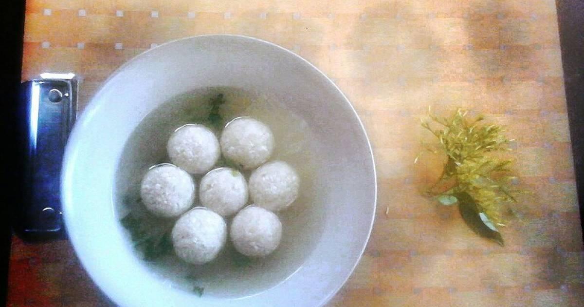 Resep Bakso Tahu Tanpa Daging Oleh Apel Cookpad