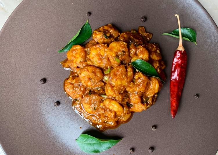 Recipe of Any-night-of-the-week Prawn Vepudu / Prawn Fry