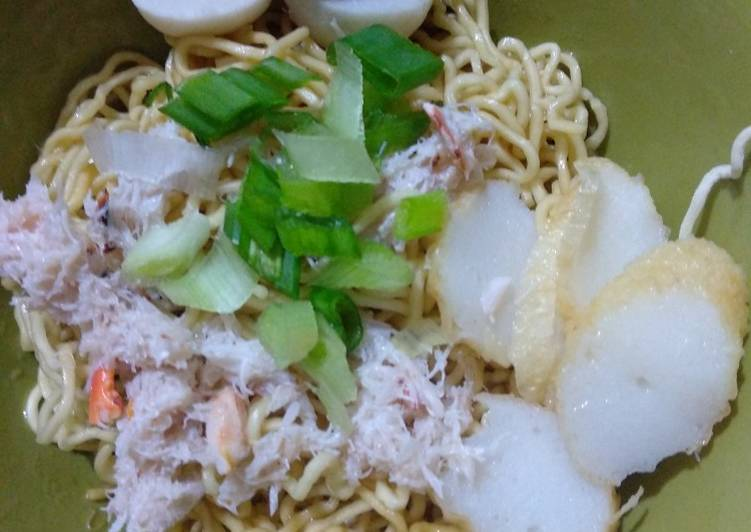Resep Mi Kepiting Singkawang Oleh Dapur Ibu Rumah Tangga Cookpad