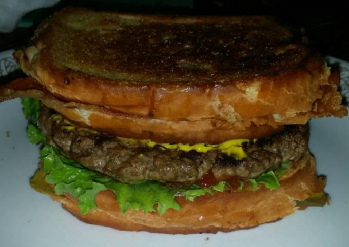 """The Heart Stopper"" Burger"