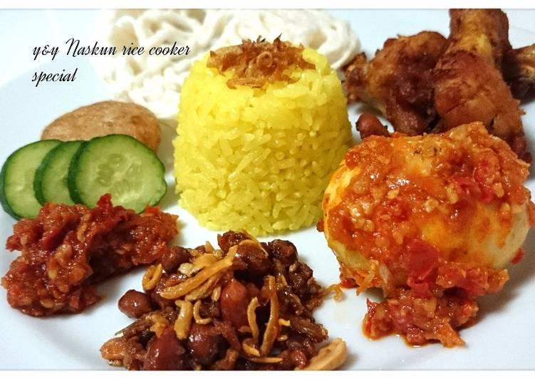 Naskun rice cooker special - cookandrecipe.com