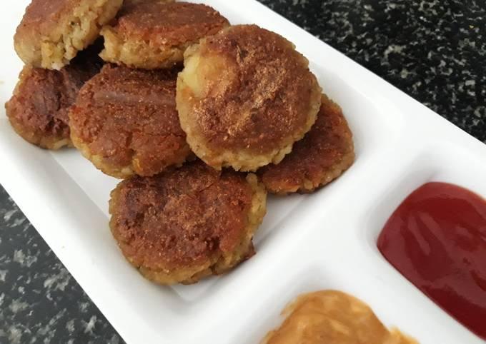 Crunchy Potato and Poha Veg Kebabs