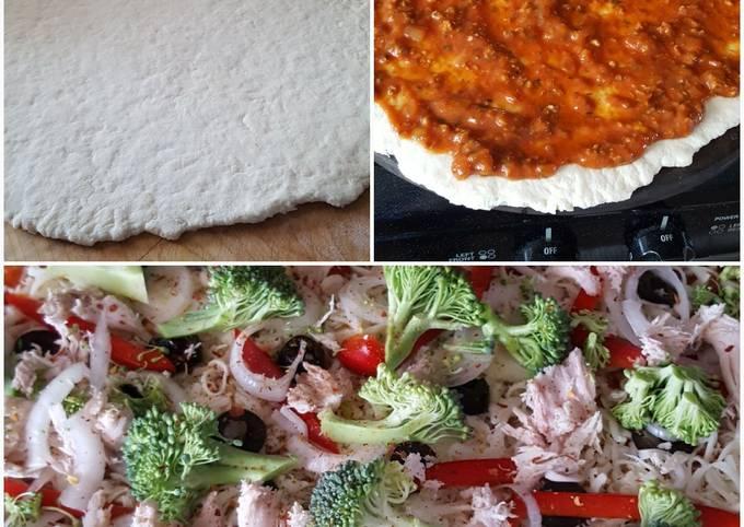 Recipe: Yummy Pizza dough
