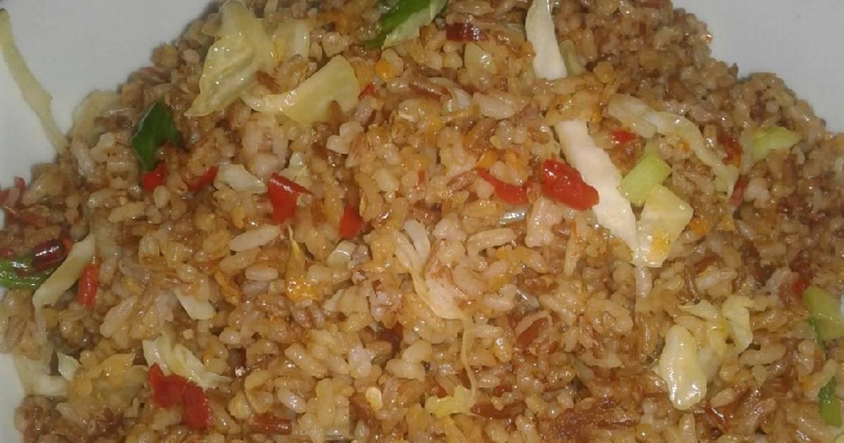 17 Resep Nasi Merah Goreng Kencur Enak Dan Sederhana Ala Rumahan Cookpad