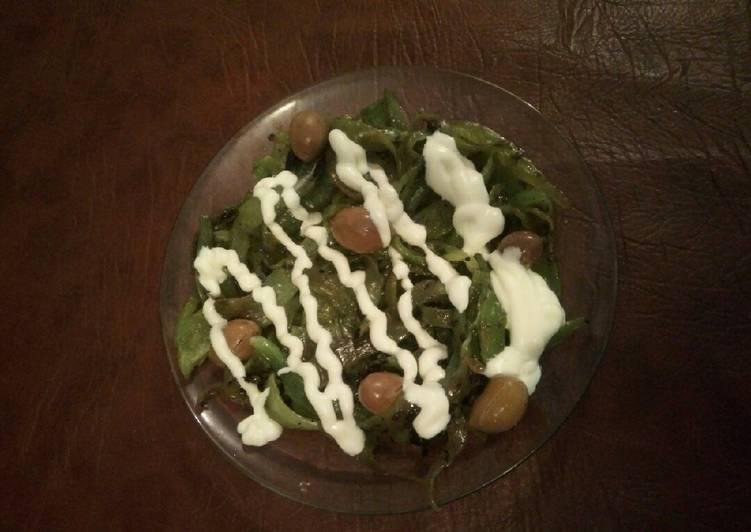 Comment Préparer Appétissant Salade de poivron