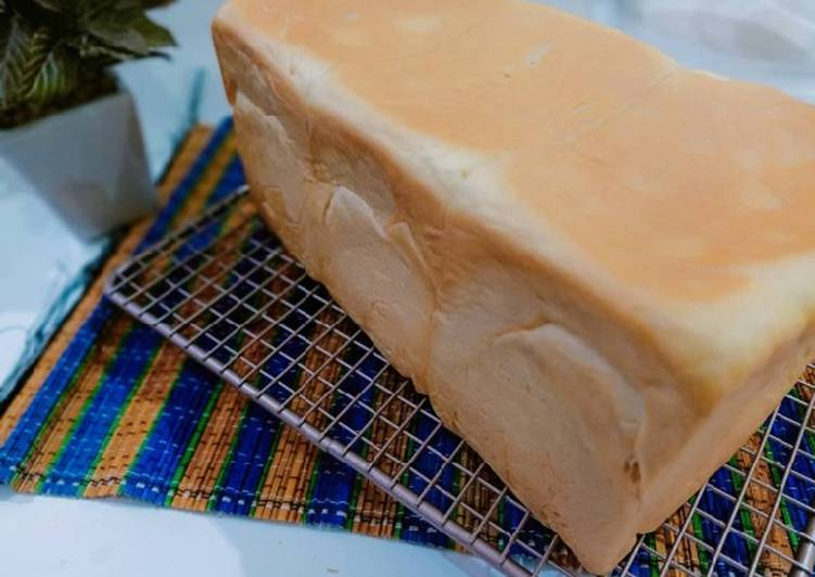 Resep Roti Tawar Lembut tanpa telur dan tanpa bread improver Bikin Ngiler
