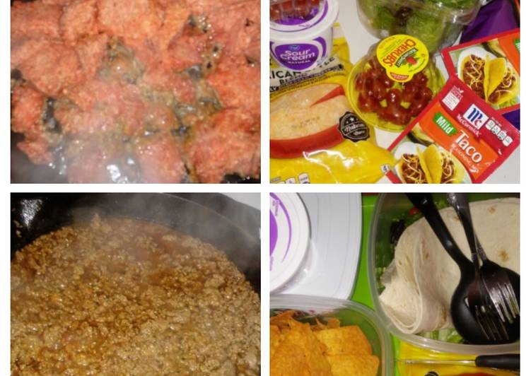 Easiest Way to Prepare Appetizing Taco's & Burrito's