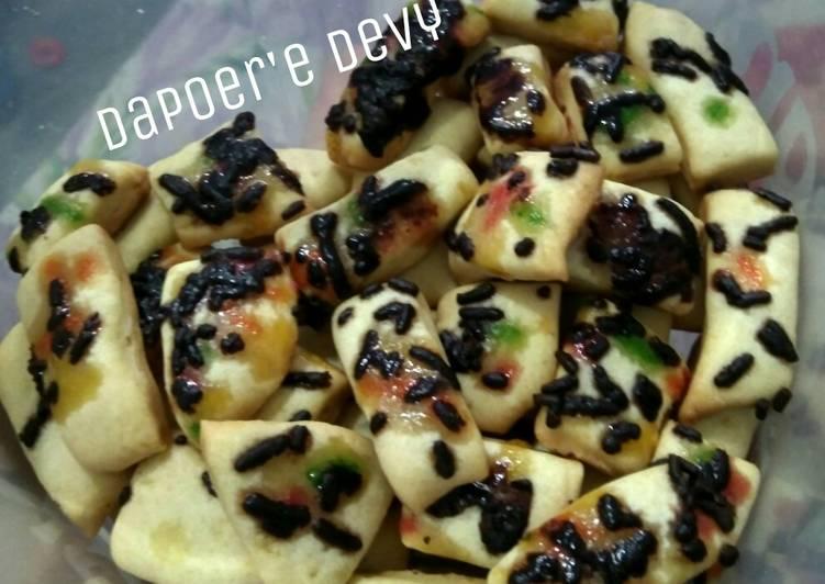 Simple cookies (takaran sdm, no oven)