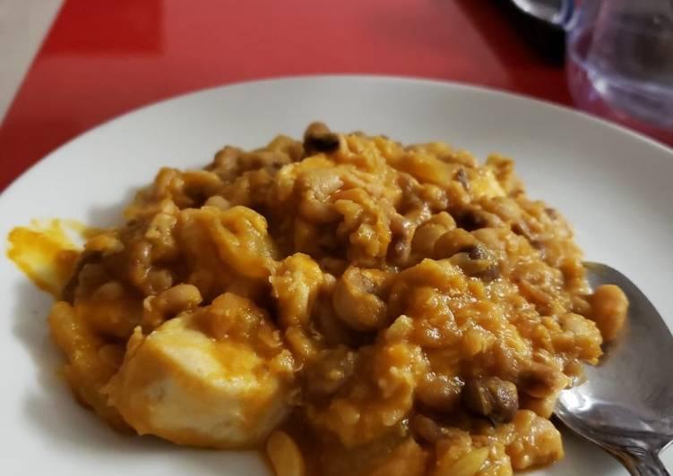 Porridge Beans and Chicken