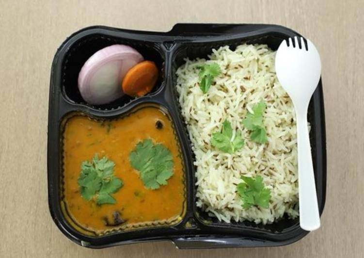 Easiest Way to Prepare Delicious Dal Fry and Jeera Rice