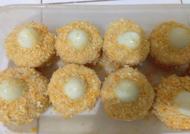 Resep Nugget tahu isi telur puyuh oleh Cau Shi Lin - Cookpad