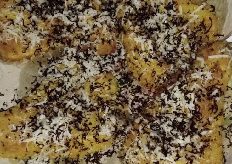 Pisgor (pisang goreng) kipas berpasir nikmat