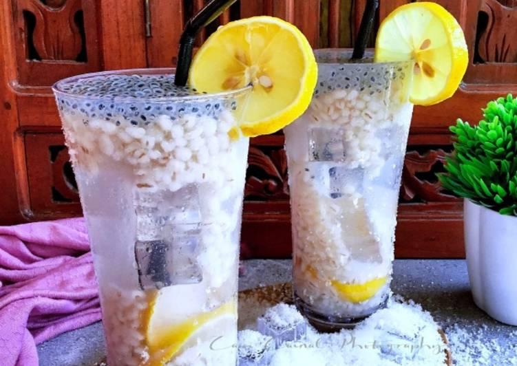 Barli Lemon Selasihku Sayang #MaratonRaya #Minuman - resepipouler.com