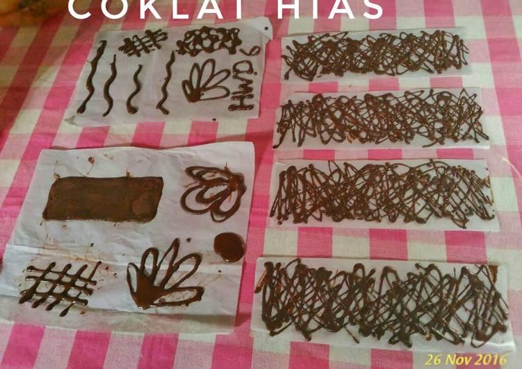 Coklat utk hiasan (tanpa cetakan)