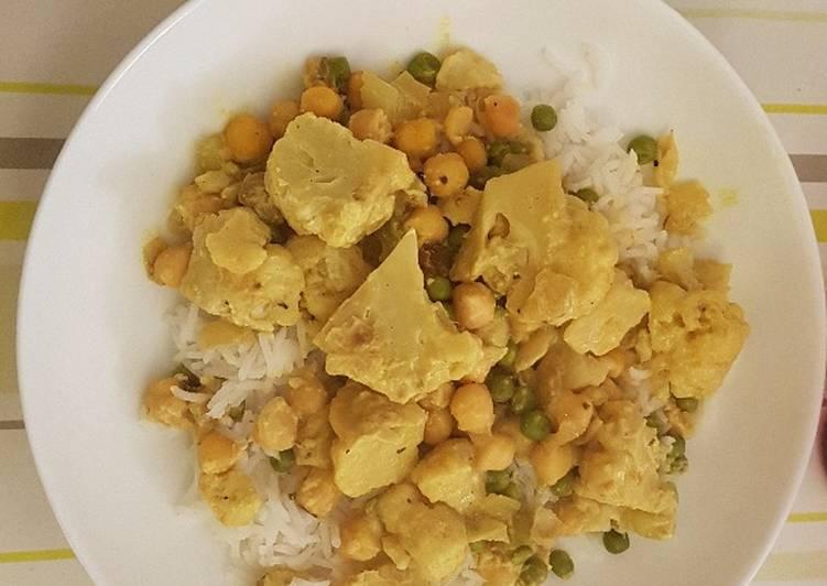 recette Curry de chou-fleur délicieux