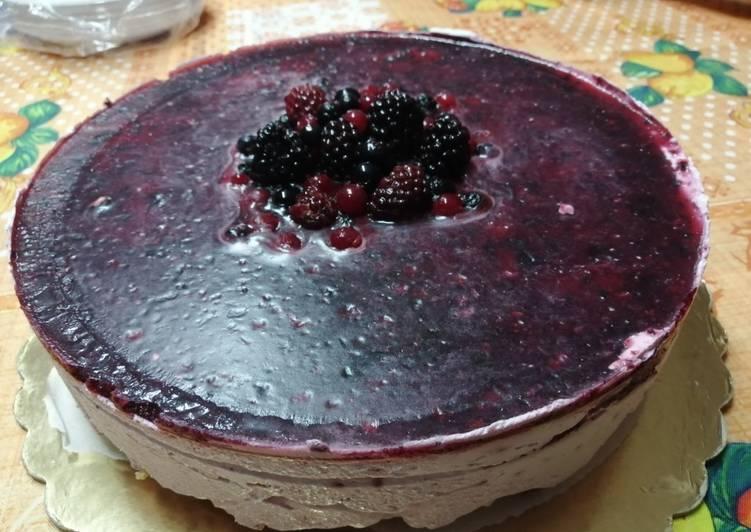 Ricetta Semifreddo ai frutti di bosco🤗