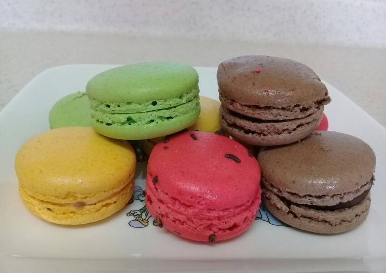 Macaroon simple anti gagal