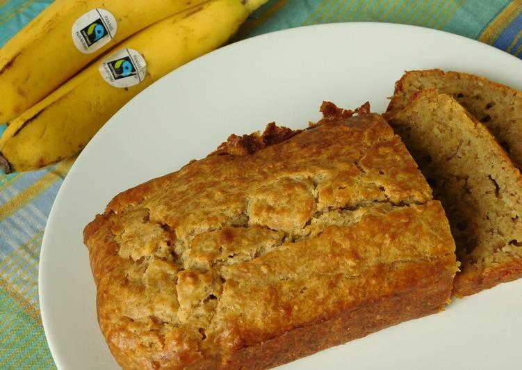 Banana and oat bread