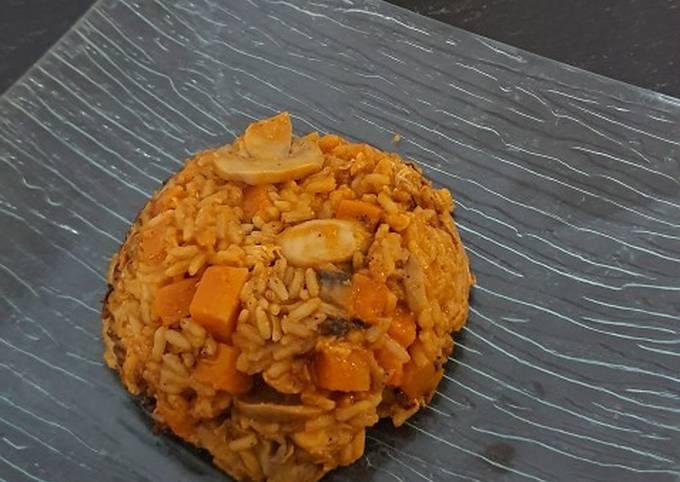 Riz et escalopes de poulet à la sauce tomate au cookeo