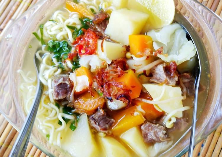 Sup daging sapi