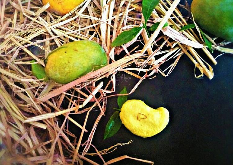 Mango Kesar Sandesh