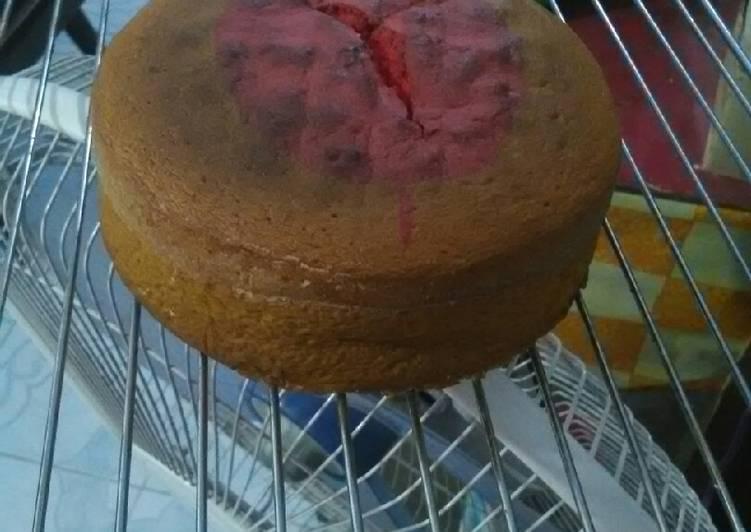 Bolu jadul no sp no baking powder (5 bahan)