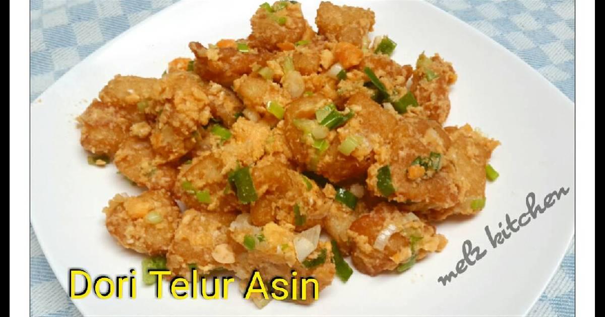 Resep Dori Telur Asin Oleh Melz Kitchen Cookpad