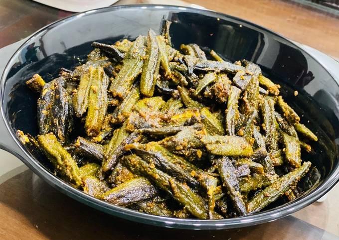 Easiest Way to Prepare Delicious Achaari kurkuri bhindi