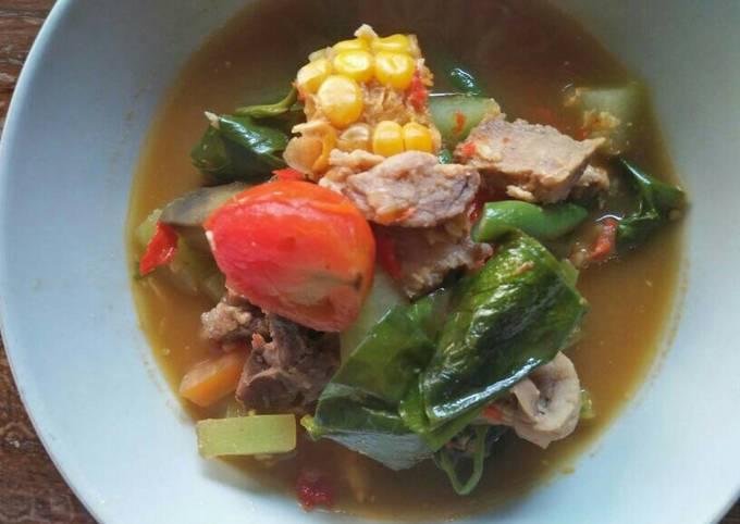 sayur asam jawa kangkung special - resepenakbgt.com