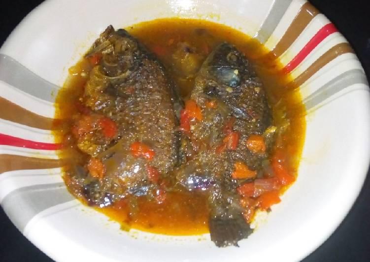 Recipe of Quick Fish pepper soup