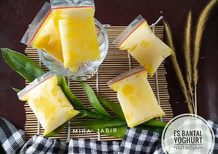 Es Bantal Yoghurt Nutrisari #90