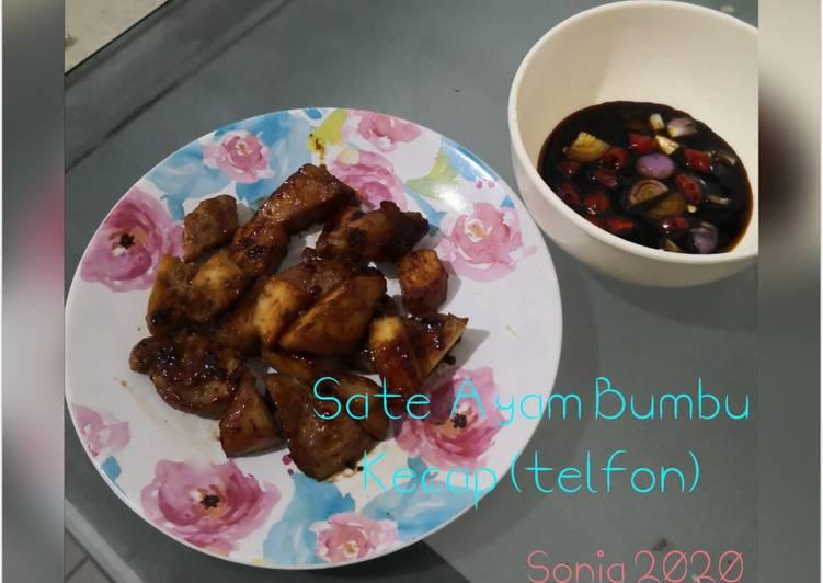 Sate ayam (teflon)