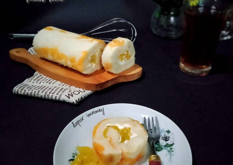 Bolu Gulung Nangka (putih telur)