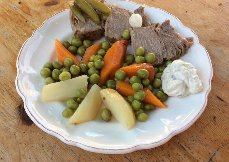 recette Pot au feu de printemps en salade Le plus simple
