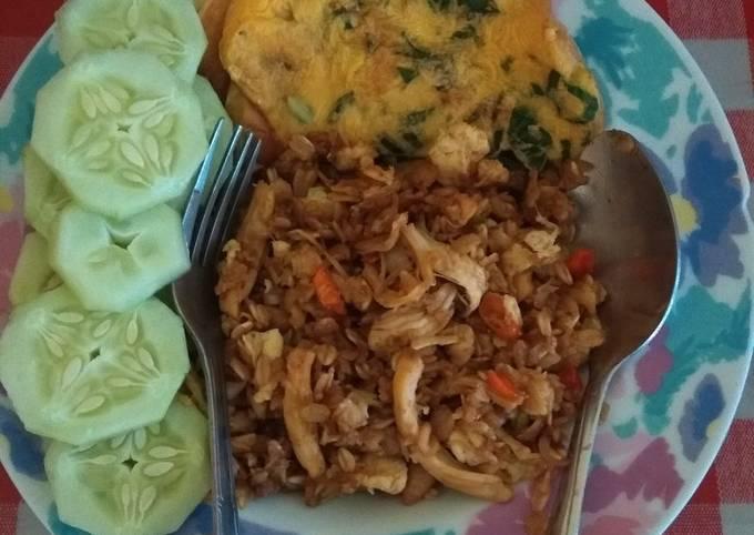 Nasi goreng oats
