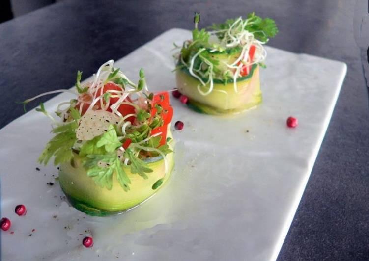 Recette Des Makis aux œufs de cailles et graines germées